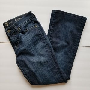 Sz 26 7 for all mankind Jeans bootcut